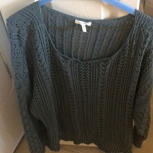 Maurice's size 2xl green sweater